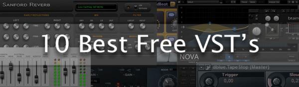 10 Best Free VST's