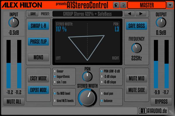 Alex Hilton Stereo Control VST