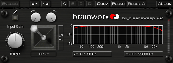 Brainworx Cleansweep v2 Free VST