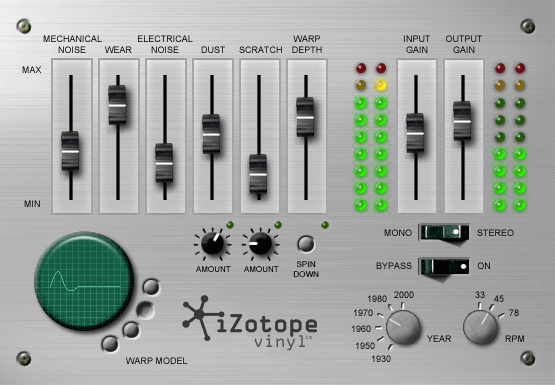 Izotope Vinyl Free VST