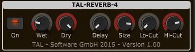 Tal-Reverb-4 Best Free Reverb Plugin VST