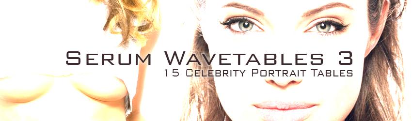 Serum Wavetables Celebrity Portrait Free Presets VST Xfer