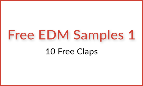 10 Free EDM Clap Samples