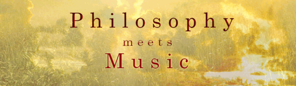 Philosophy meets Music