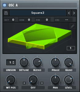 Serum Wavetable Image Gradient Square Tutorial