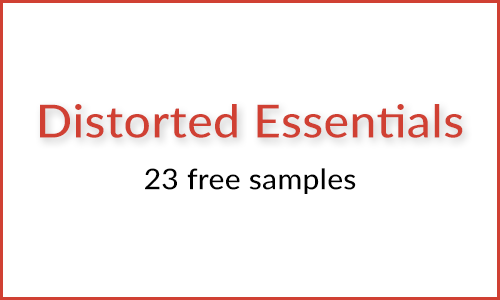 Distorted Essentials 23 Free Samples Kick Snare FX