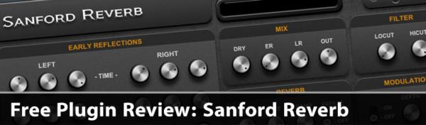 Free Plugin Review Sanford Reverb Typhonic Samples