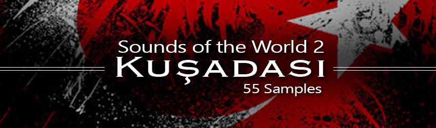Banner Sounds of the World 2 Kusadasi Free Samples Percussion FX Drum Sounds Foley