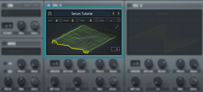Serum Oscillator View VST Plugin