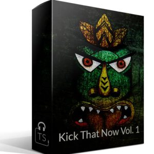 Kick That Now Vol. 1 Box Typhonic Samples Audio Sound Bank