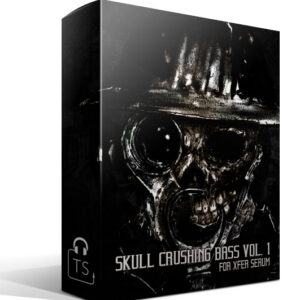 Box Skull Crushing Bass Xfer Serum Preset Pack Typhonic Samples