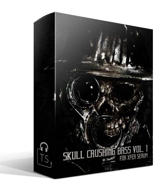 Box Skull Crushing Bass Xfer Serum Preset Pack Typhonic Samples
