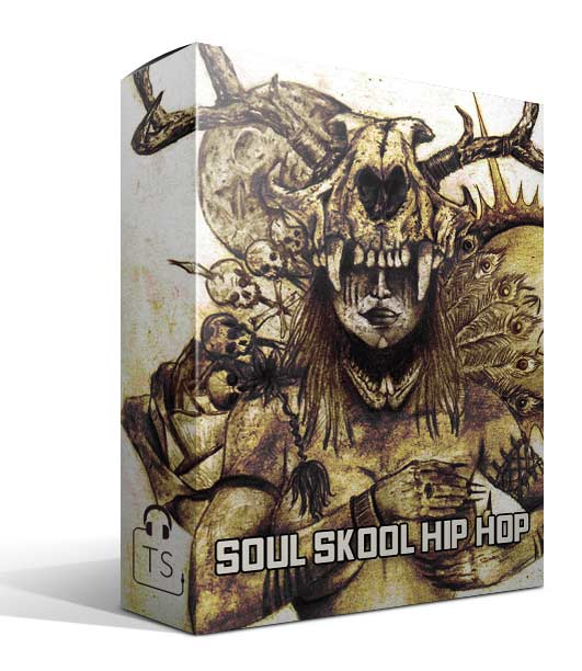 Soul Skool Hip Hop Box Typhonic Samples Pack Audio Sound Bank Old School