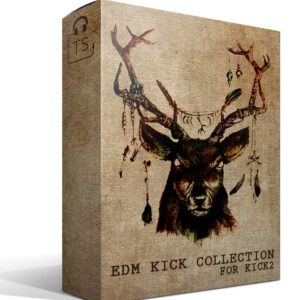 Box EKC EDM Kick Collection Sonic Academy KICK2 Preset Sound Bank Typhonic Samples Pack