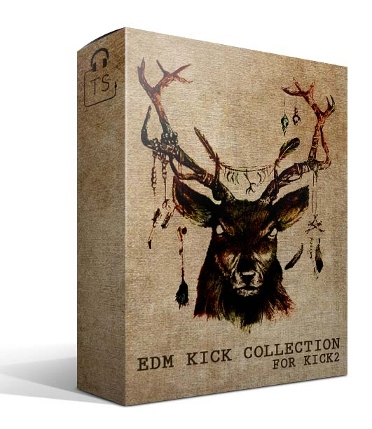 Box EKC EDM Kick Collection Sonic Academy KICK2 Preset Sound Bank Typhonic Samples Pack