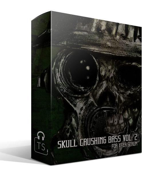 Box SCB2 Skull Crushing Bass Vol. 2 Xfer Serum Presets Typhonic Samples Sound Bank Pack Download