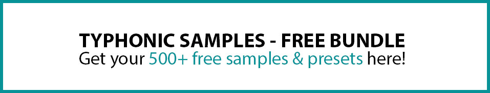 Typhonic Samples Free Bundle Download Presets Music Production Drums Vocals