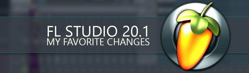 FL Studio 20.1 Update Banner Music Production Blog Image Line Typhonic Samples