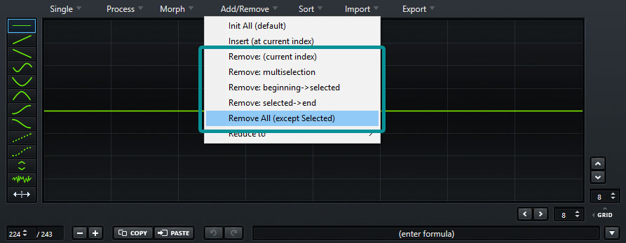 Remove Frames Serum Wavetable Editor