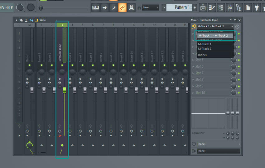 How to set up your turntable in FL Studio as input