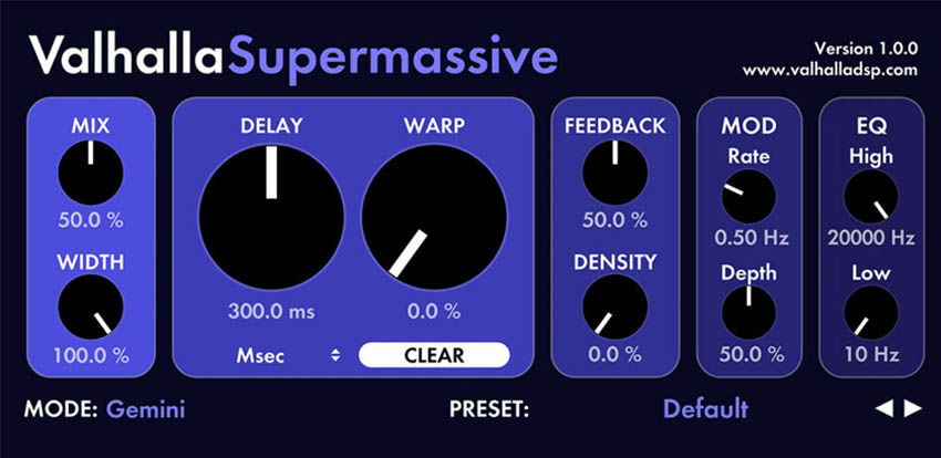 Valhalla Supermassive Free VST Plugin Review